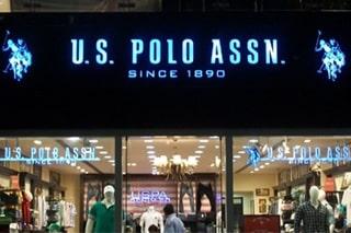 ACP glow sign board of U.S. Polo Assn. in Chennai