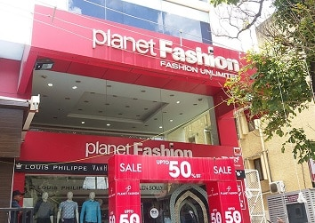 ACP Sign board designed for popular Fashion Outlet
